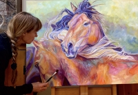 Diane-painting-Equine-Spirits-III-ws