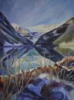 Autumn-on-the-Lake_Lake-Louise_48x32-GG