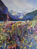 Snapdragons-and-Wildflowers_Lake-Louise_48x36-GG